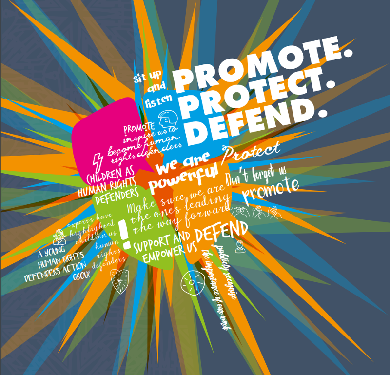 The cover image for Promote.Protect.Defend.